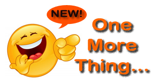 NEW One More Thing