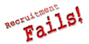 5 Recruitment Fails