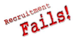 5 Recruitment Fails