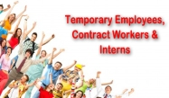 Temps, Contract & Interns