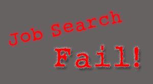 Job Search Fail